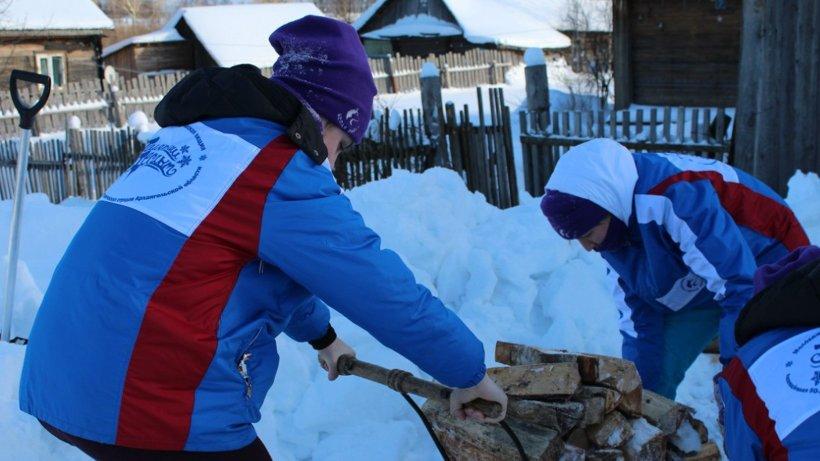 «Полярный десант 2016» работал в четырёх районах области. В этом году студенты вновь отправятся на помощь пожилым людям