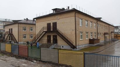 Детский сад, появившийся на улице Театральной, рассчитан на 220 малышей