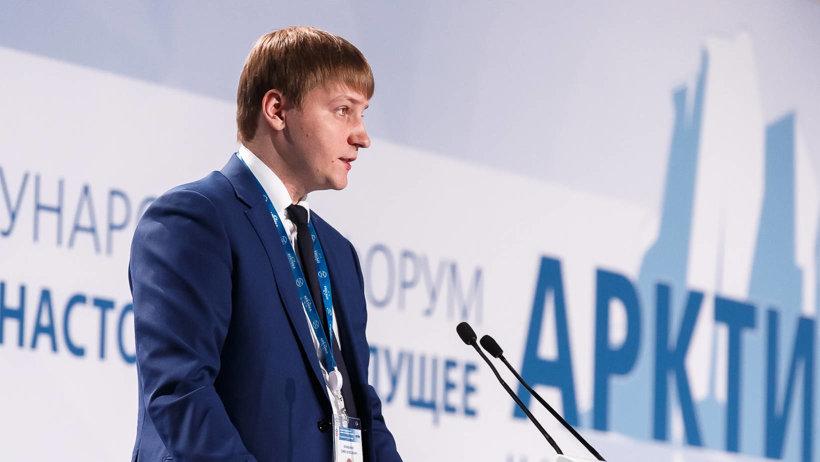 Министр экономического развития Архангельской области Семён Вуйменков. Фото пресс-центра форума